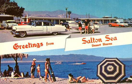 How did the Salton Sea become one of Americas largest Wastelands