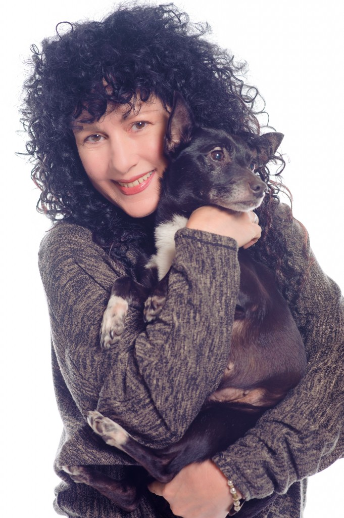 Sonja with dog