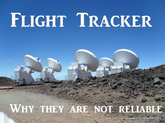 The Truth Denied.com Flight tracker