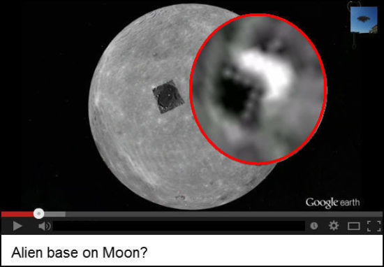 Alien Base on Moon? Alien Craft the size of a large US City?