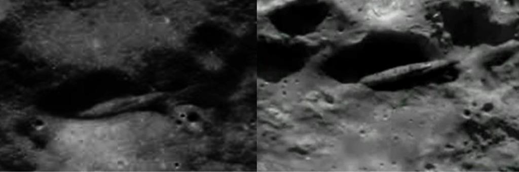UFO Bases On The Moon Dark Satellite Footage The Truth Denied - Satellite footage
