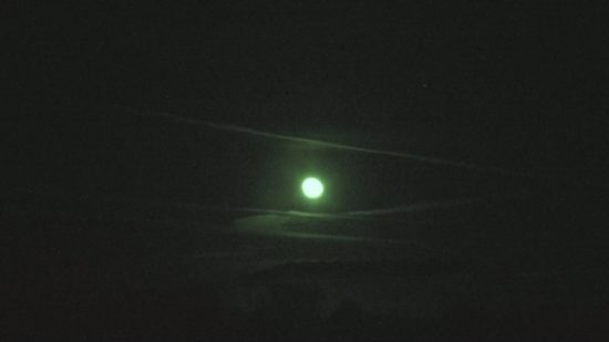 Chemtrailing the rising moon November 08, 2014 @ 7:00 pm