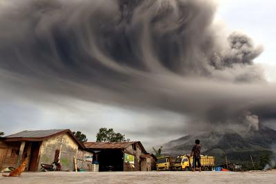 Ash Cloud Indonesia