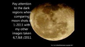 2011 Moon photo, orbital Tilt credit: The Truth Denied Tabloid