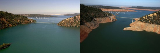 SEVERE DROUGHT in Green Bridge, CA -2o15 http://www.sfgate.com/