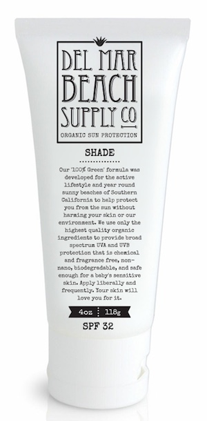 Del Mar Beach Supply Company-All Organic Sunscreen