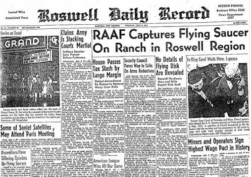 7. 21 percent of voters say the U.S. government for more than six decades has covered up a UFO crash in Roswell, N.M. A 1947 Newspaper helped launched the conspiracy theory, and Roswell has since profited on tourism based around the event.(Roswell Slides 2015) TTD