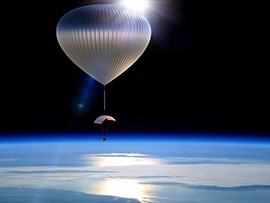 World View plans to start taking passengers to the outermost edge of earths atmosphere in high-altitude balloons by 2016.