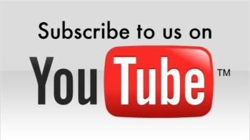 YOU TUBE, subscribe to us banner