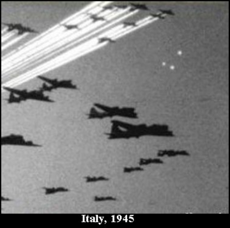 WWII FOO FIGHTER UFO's