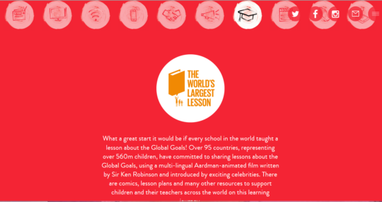 Worlds Largest Lesson - Launch date Sept 25, 2015