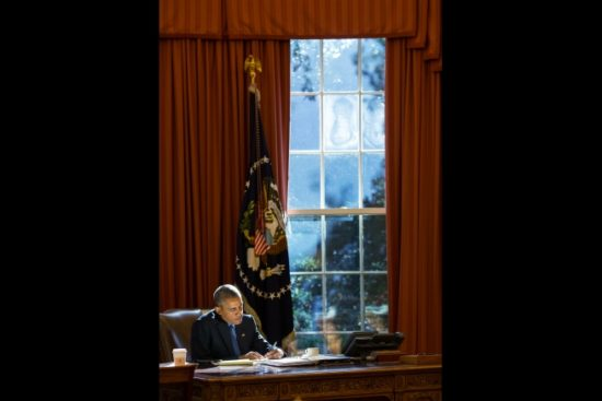 Obama in the whitehouse