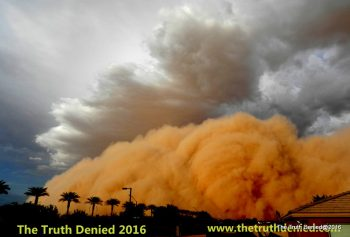 Arizona is using GORILLA SNOT to supress dust storms in AZ (C)2016TTD