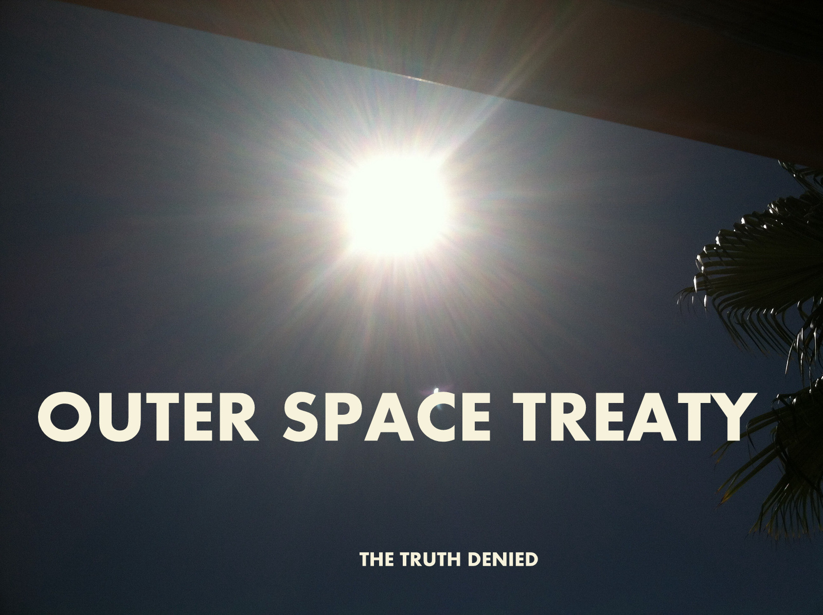 Outer Space Treaty
